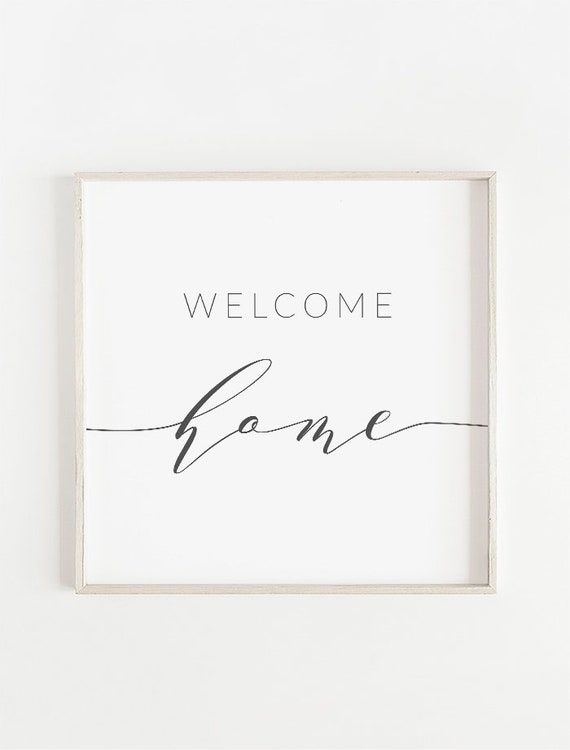 graphic relating to Welcome Home Sign Printable named Welcome Dwelling Printable, Entryway Signal, Welcome Household Signal, Welcome Dwelling Print, Entryway Print, Welcome Household Electronic, Welcome Dwelling Wall Decor