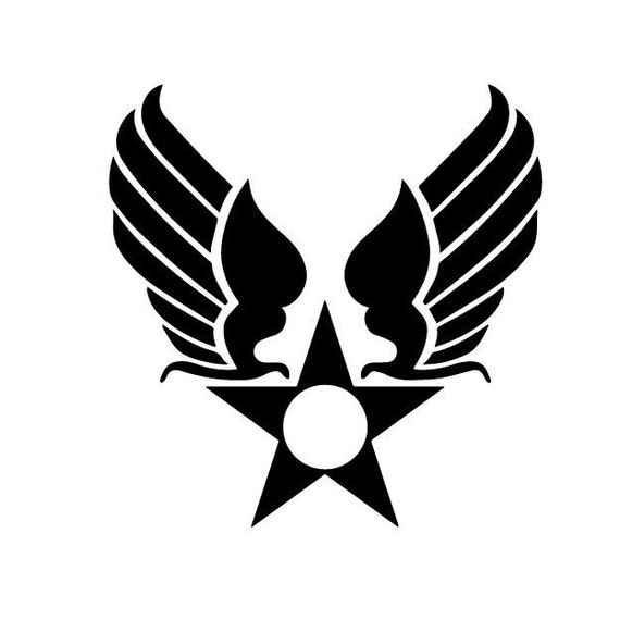 Air Force Hap Arnold Logo Insignia Car Window Laptop Etsy
