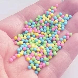 Caviar Beads .6-1.5mm Rainbow