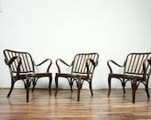 Josef Frank armchairs Thonet
