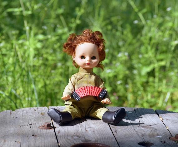 Sowjetische Puppe aus 70er Jahren russische Puppe UdSSR | Etsy
