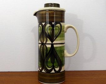 Jersey Pottery Retro Coffee Pot