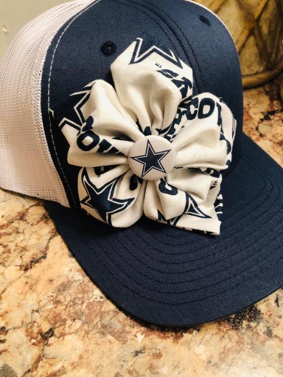 e4d3459a34872b Dallas Cowboys cap womens trucker cap womens baseball cap | Etsy
