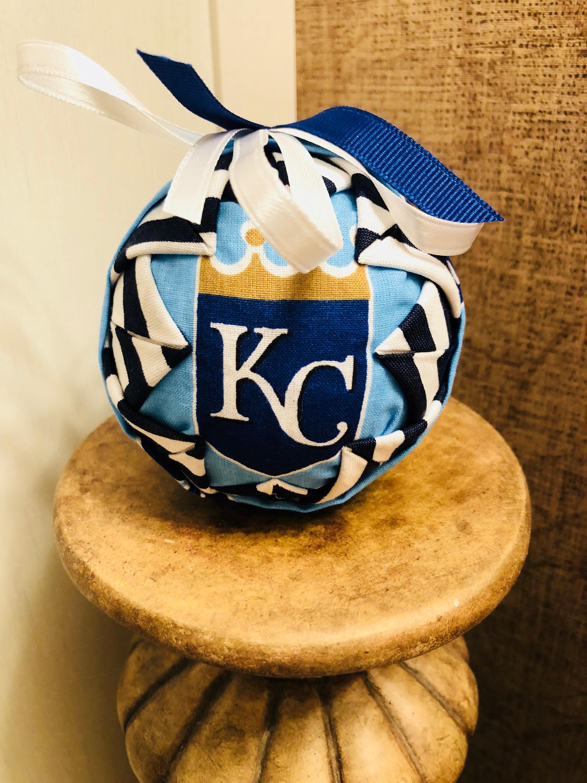 Kansas City Royals Christmas ornament fabric ornament | Etsy