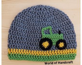 Traktor Hut Häkeln Etsy