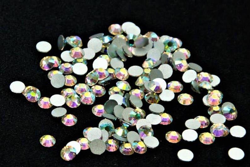 a8cfb2de6 Rhinestones 288pcs/SS34/7mm High Quality Crystal AB Flat Back | Etsy
