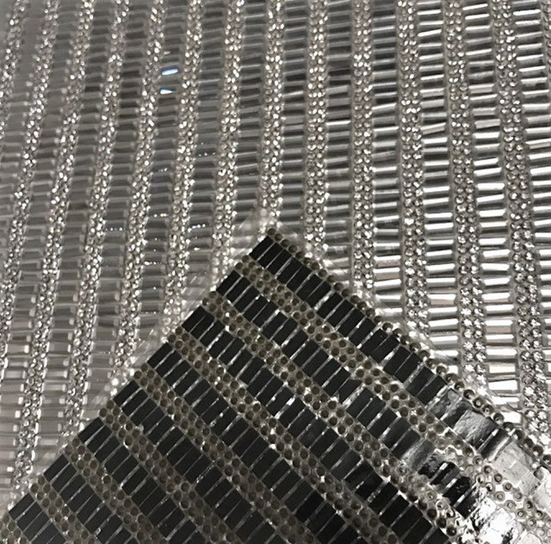 Crystal Mesh Rhinestone Panel Glass Rhinestone Sheets Iron On Price Per 1 Sheet