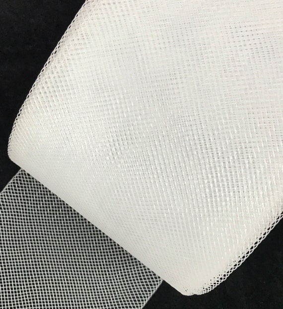 2 inch Wide Polyester White Horsehair Braid Selling Per Roll// 22 Yards