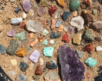 Gem, Mineral, and Crystal Mining Activity