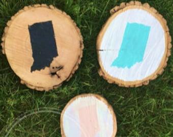 Indiana wood rounds