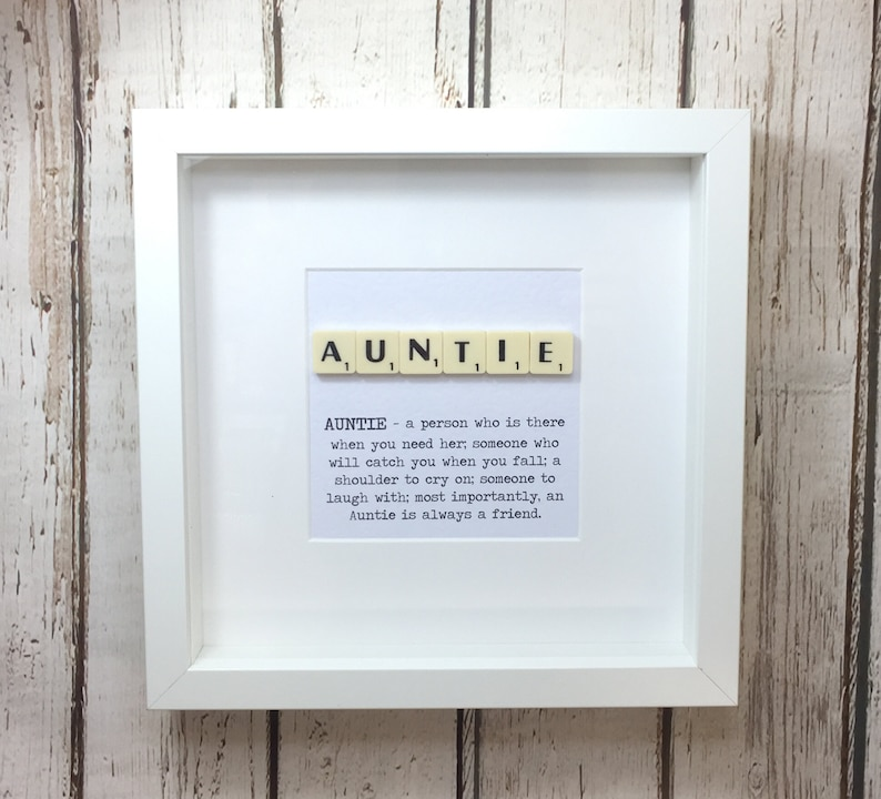 Gift For Auntie Aunt Present Godmother QuoteBirthday