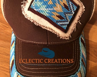 a1e201854c6 Beaded Baseball Hat (Made to Order)