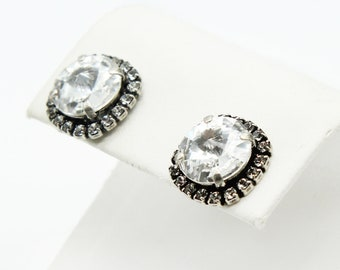 Stud Earrings-Bridal Earrings-Wedding Earrings-Bridal Jewelry-Wedding Jewelry-Crystal Earrings-Swarovski Earrings-Bridesmaid Gift