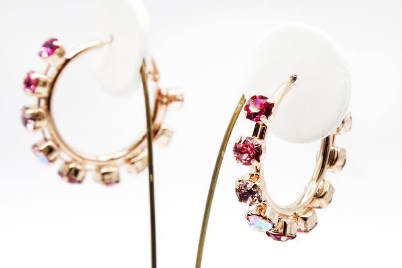 4ef2452d3 Hoop Earrings-Rose Gold Hoop Earrings-Large Hoop | Etsy