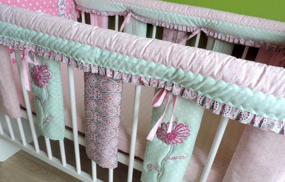 Crib Teething Guards Custom Baby Cot Bar Bumpers Baby Bed