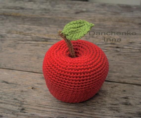 Häkeln Sie Häkeln Obst Amigurumi Häkeln Essen Häkeln Spielen Etsy