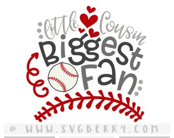 9ca229069 Baseball Cousin Onesie SVG / Little Cousin Biggest Fan SVG / Cousins Gift / Cousins  Shirt / Big Cousin Shirt / Baseball Mom / cut files /Bg