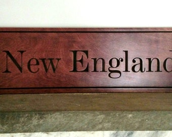 New England Sign