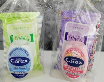 Hand Gel and Hygiene Pack/ Hand Sanitiser/ Hand Sanitizers/ Hand Gel Travel Pack/ Covid Hygiene Pack/ Hand Gel Personalised Hygiene Pack