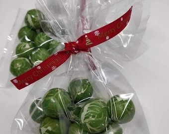 Chocolate Sprouts, Sprouts, Christmas Sweets, Stocking Filler, Christmas Eve Box, Classroom Treats, Secret Santa, Teacher Gifts, Party Bag