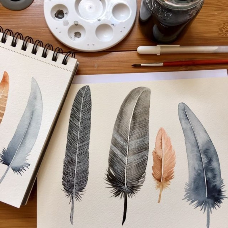 Workshop Feathers and fluffy birds Creative Life image 0
