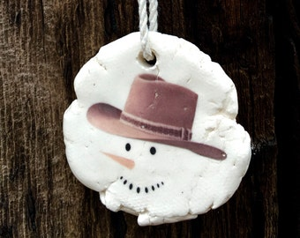 Rustic Christmas Ornaments, Country Christmas Ornaments, Handmade Christmas Ornaments, Unique Christmas Ornaments, White Christmas Ornaments