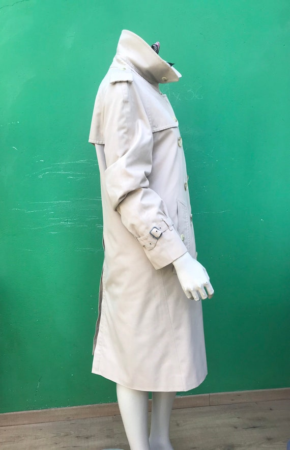 BURBERRY VINTAGE TRENCH COAT Double breasted tren… - image 8