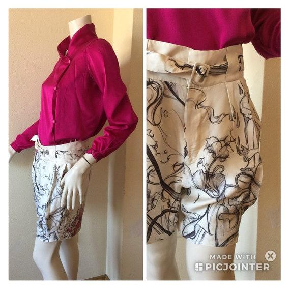 PRADA SILK SHORTS Prada shorts Vintage shorts Vint