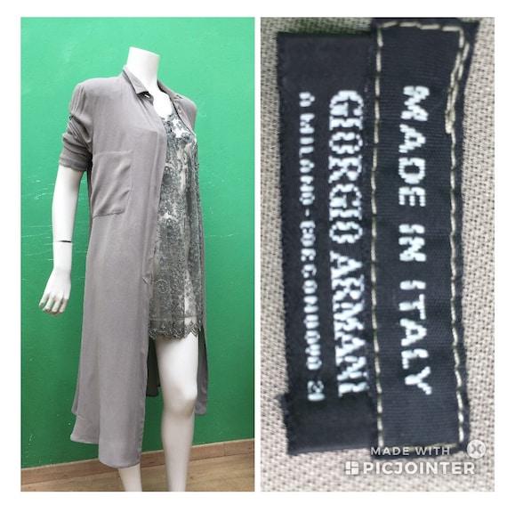 """LONG BLAZER Dress ARMANI """"90s Kimono blazer"""" Fashi"""