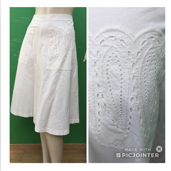 ANCIENT COTTON SKIRT   fashion Handmade cotton Ski