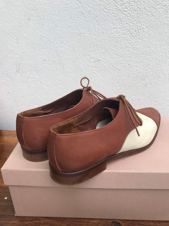 FRENCH LOW SHOES | Vintage Leather Oxford | Luxur… - image 3