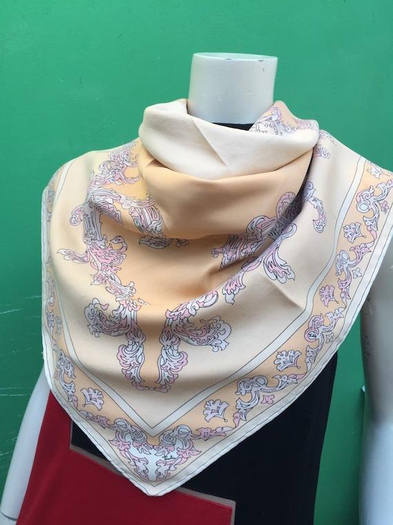 70s FOULARD EMILIO PUCCI Rare Pucci scarf Baroque