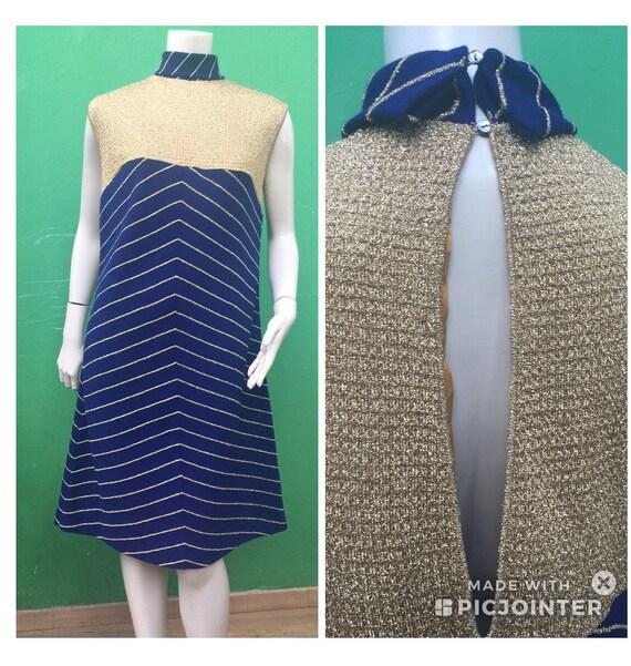 GLITTER VINTAGE DRESS Vintage Dress Ceremony Wool