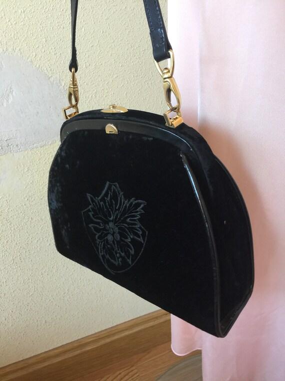 VELVET SHOULDERBAG BAG | Velvet shoulderbag | Rare
