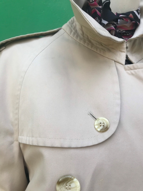 BURBERRY VINTAGE TRENCH COAT Double breasted tren… - image 6
