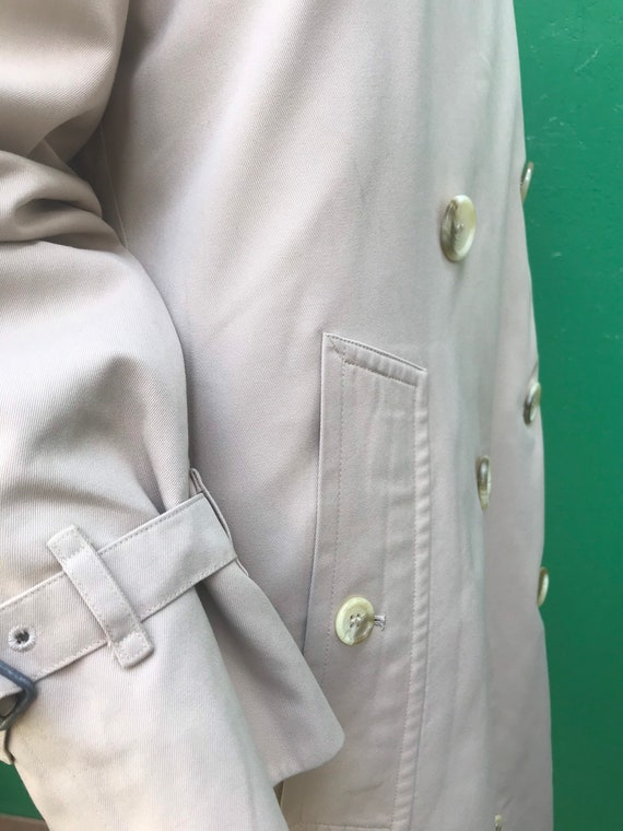 BURBERRY VINTAGE TRENCH COAT Double breasted tren… - image 5