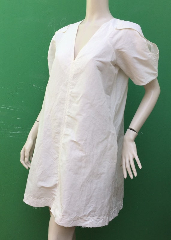SILK SARTORIAL DRESS White Silk dress Fashion desi