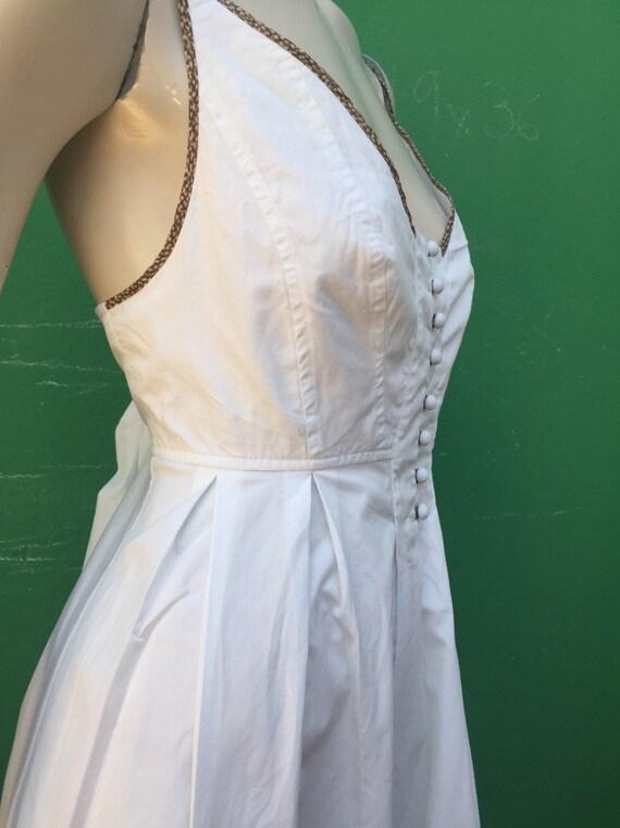 BORBONESE WHITE COTTON Dress Fashion cotton Borbo… - image 5