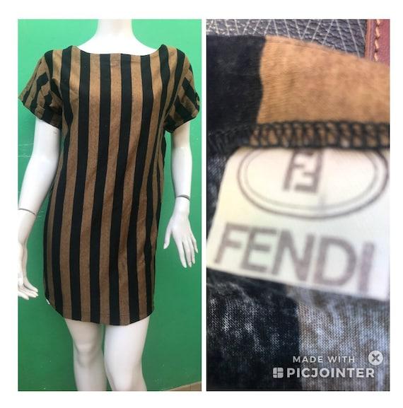 FENDI MINI DRESS | 90s Vintage Fendi dress | Fendi