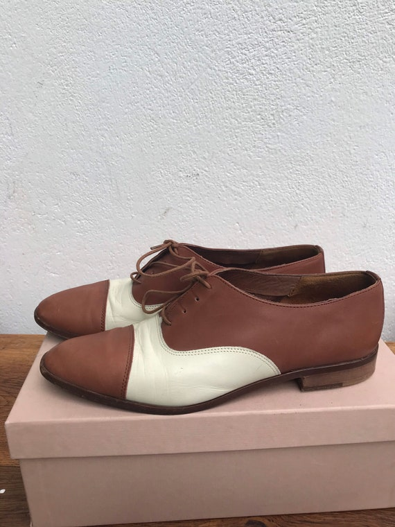 FRENCH LOW SHOES | Vintage Leather Oxford | Luxur… - image 5