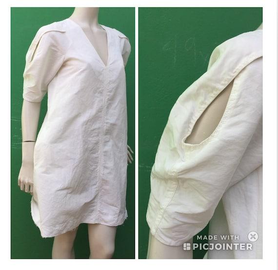 SILK SILK SARTORIALE DRESS White Silk dress Fashio