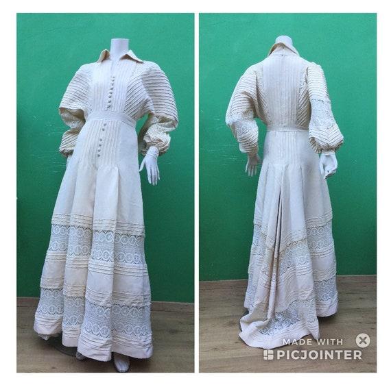 SARTORIAL WEDDING DRESS Bohemian wedding dress Tai