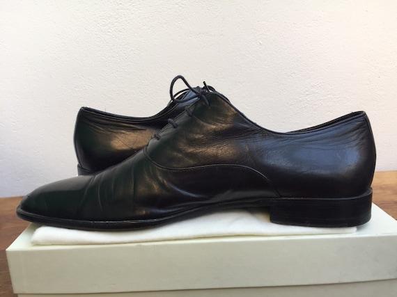 GUCCI MEN SHOES Gucci men's leather laces shoes Le
