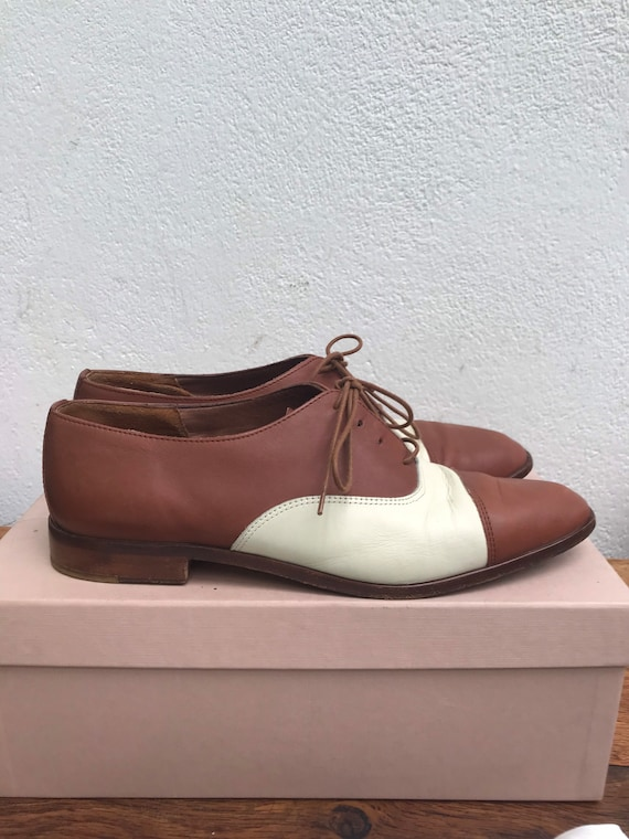FRENCH LOW SHOES | Vintage Leather Oxford | Luxur… - image 2