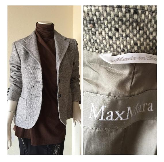 Max Mara WOOL JACKET   Max Mara Jacket    90s Max