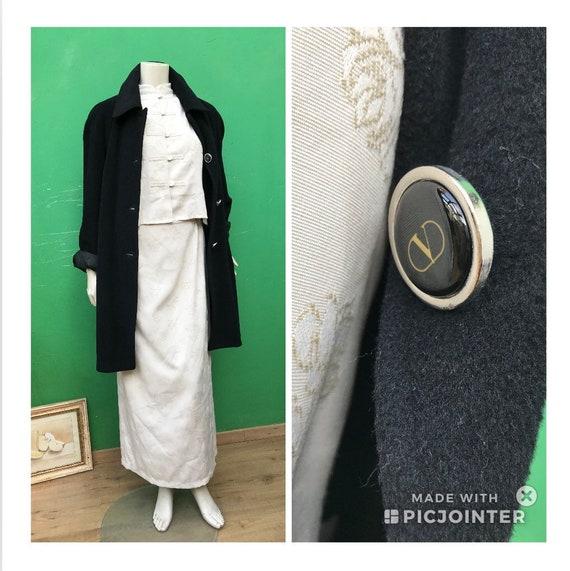 VALENTINO MOHAIR COAT |Vintage Valentino Coat | Ca