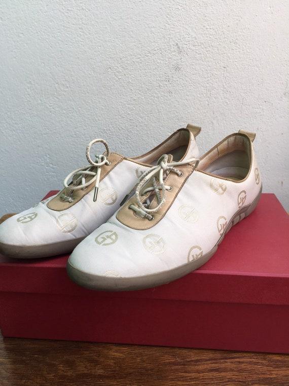 GIORGIO ARMANI SHOES Vintage leather shoes Women's