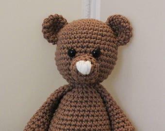 Oscar The Bear Crochet Animal