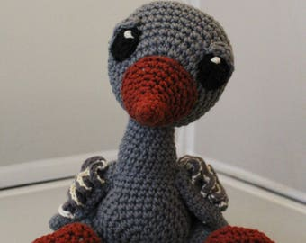 Gerda The Goose Crochet Animal