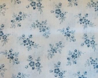 Country Gardens Calico Print Fabric